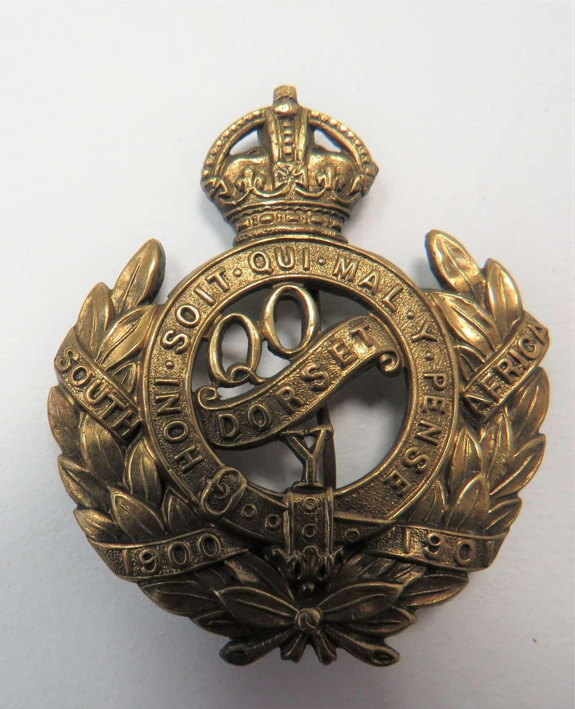 Queens Own Dorset Yeomanry Cap Badge