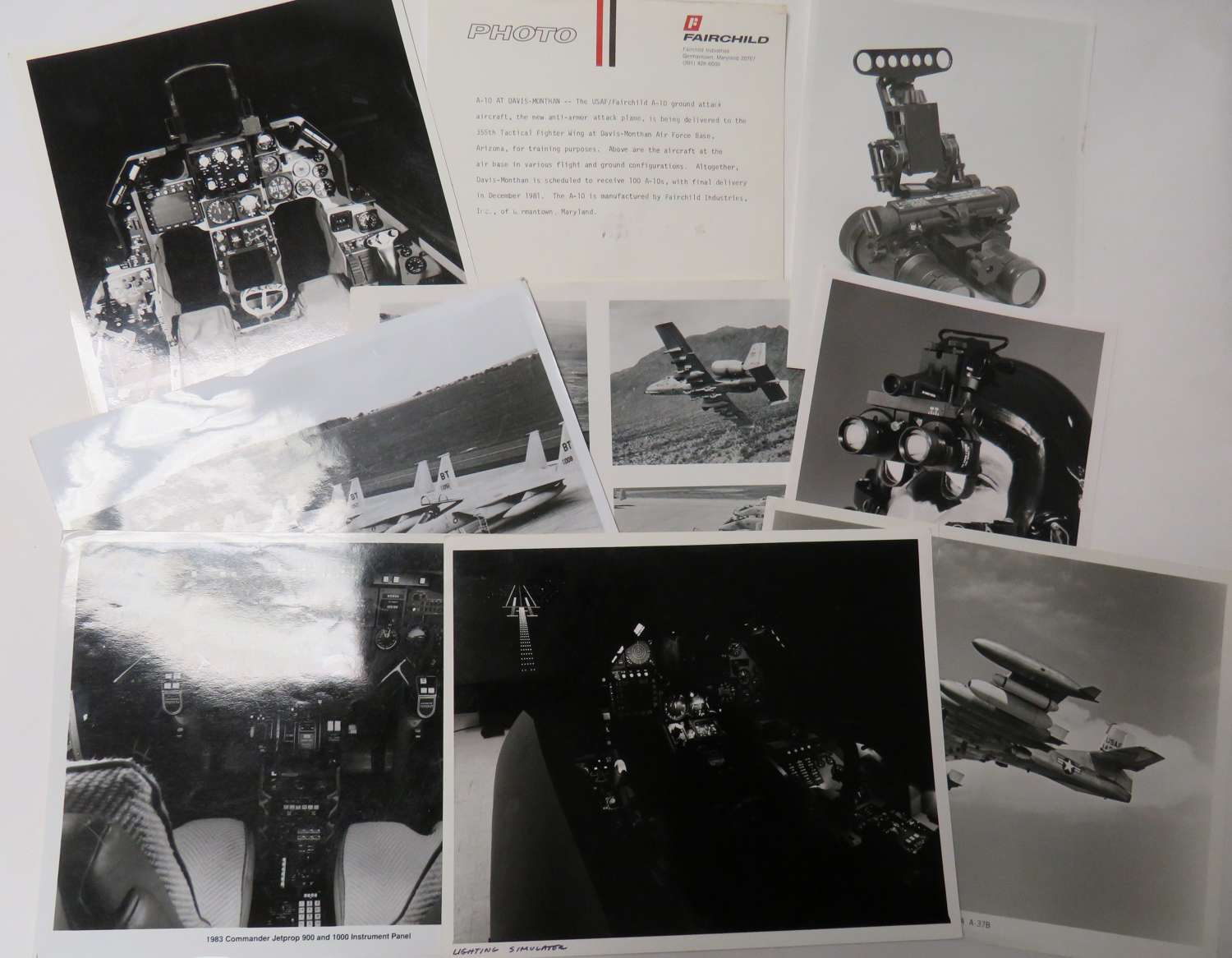 Small Selection of Modern Aviation Photographs