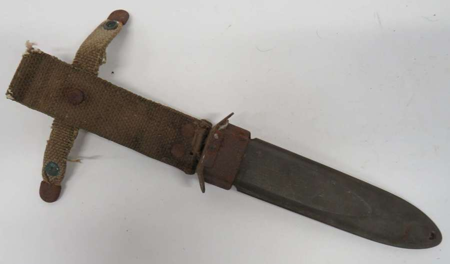 WW2 American M8 Scabbard for the M3 Combat Knife