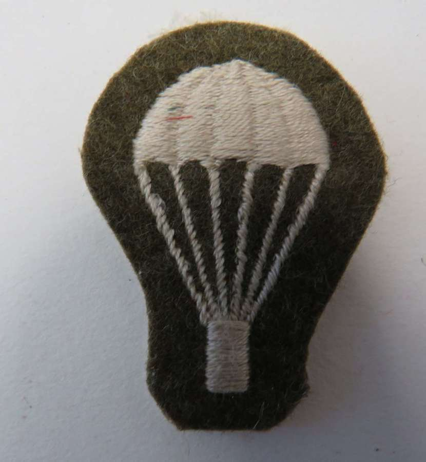 Parachute Trained Light Bulb Cuff Badge
