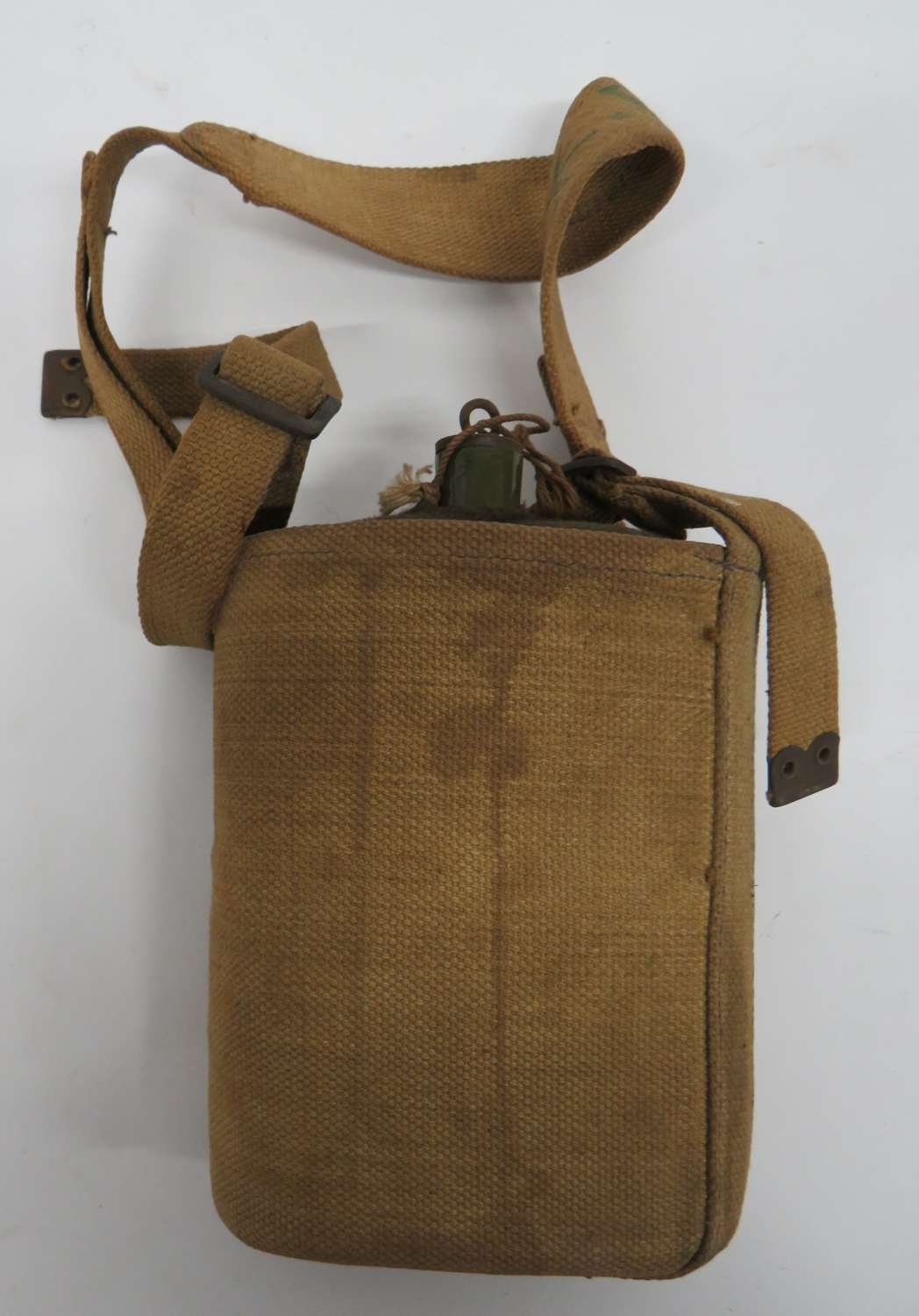 WW2 Economy 1937 Pattern Water-bottle and Harness