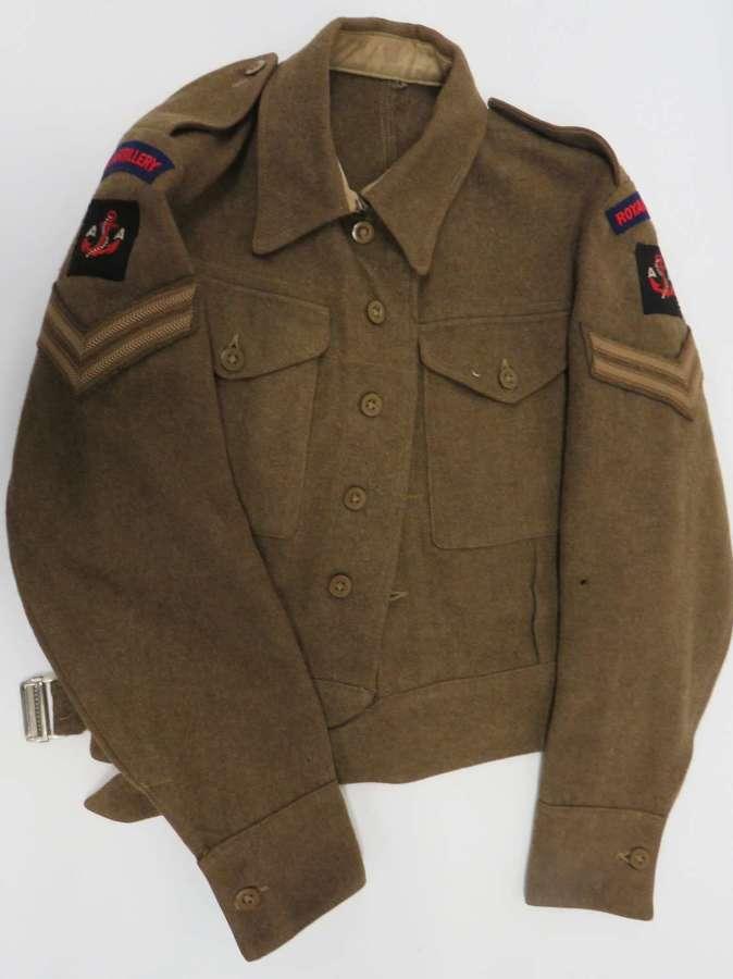 Maritime Anti Aircraft 1940 Pattern Battledress Jacket