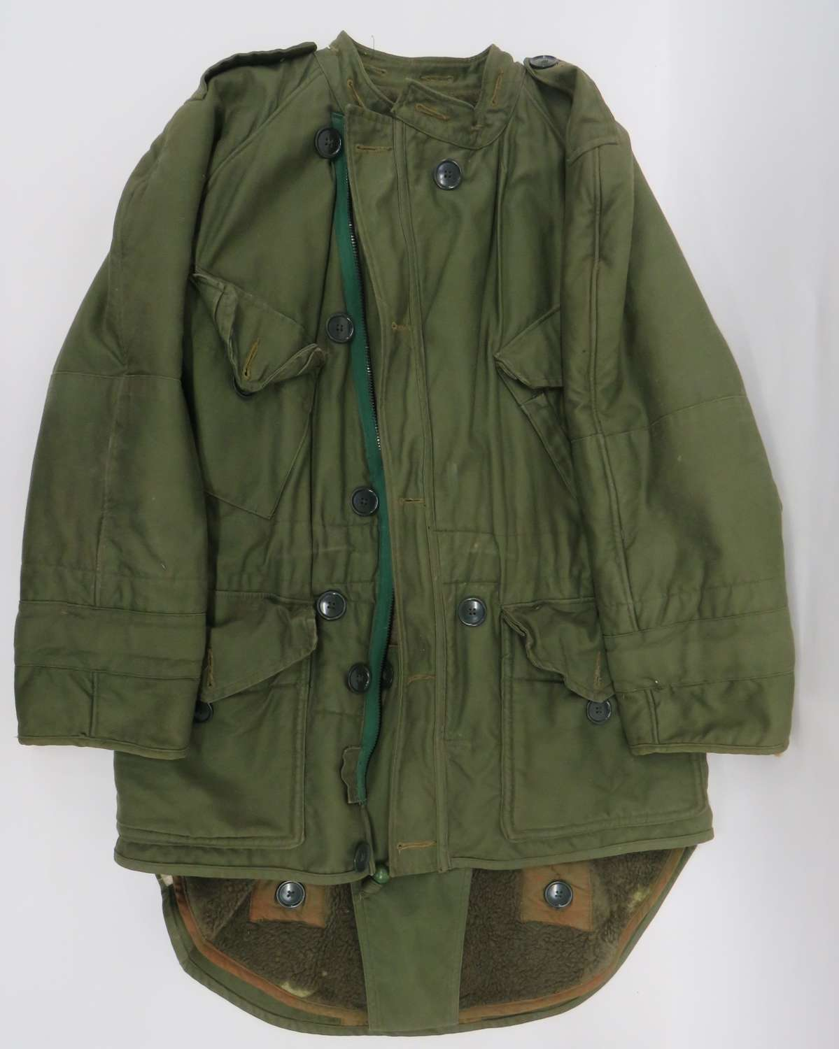 Scarce 1950 / 60s Cold Weather Fish Tail Parka
