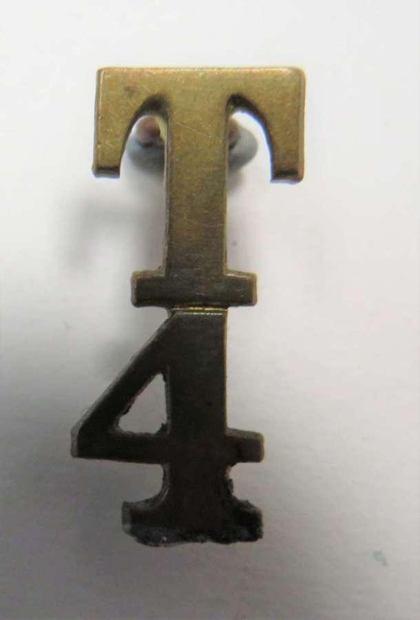 WW1 Territorial T4 Shoulder Title