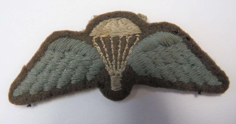 Airborne Parachutist Qualification Wings