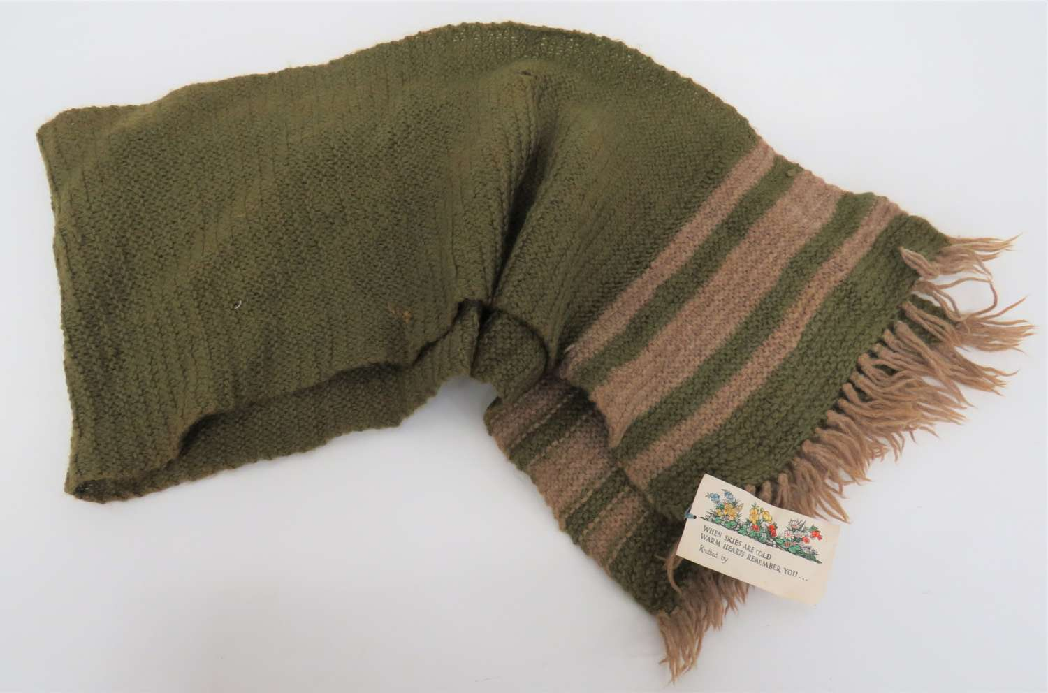 WW1 / WW2 Front Line Knitted Comfort Scarf