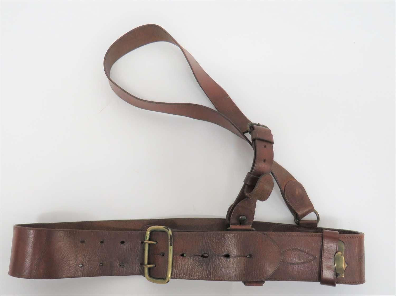 Special Pattern Sam Browne Officers Belt