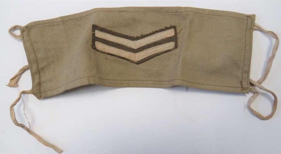 WW2 Tropical Corporals Armband Ranking