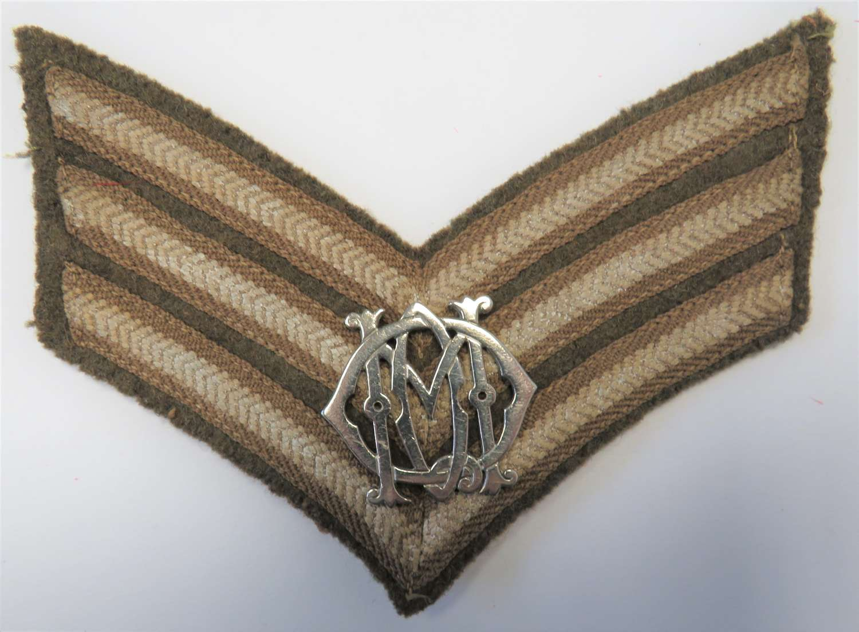 13th / 18th Hussars Sergeants Arm Badge