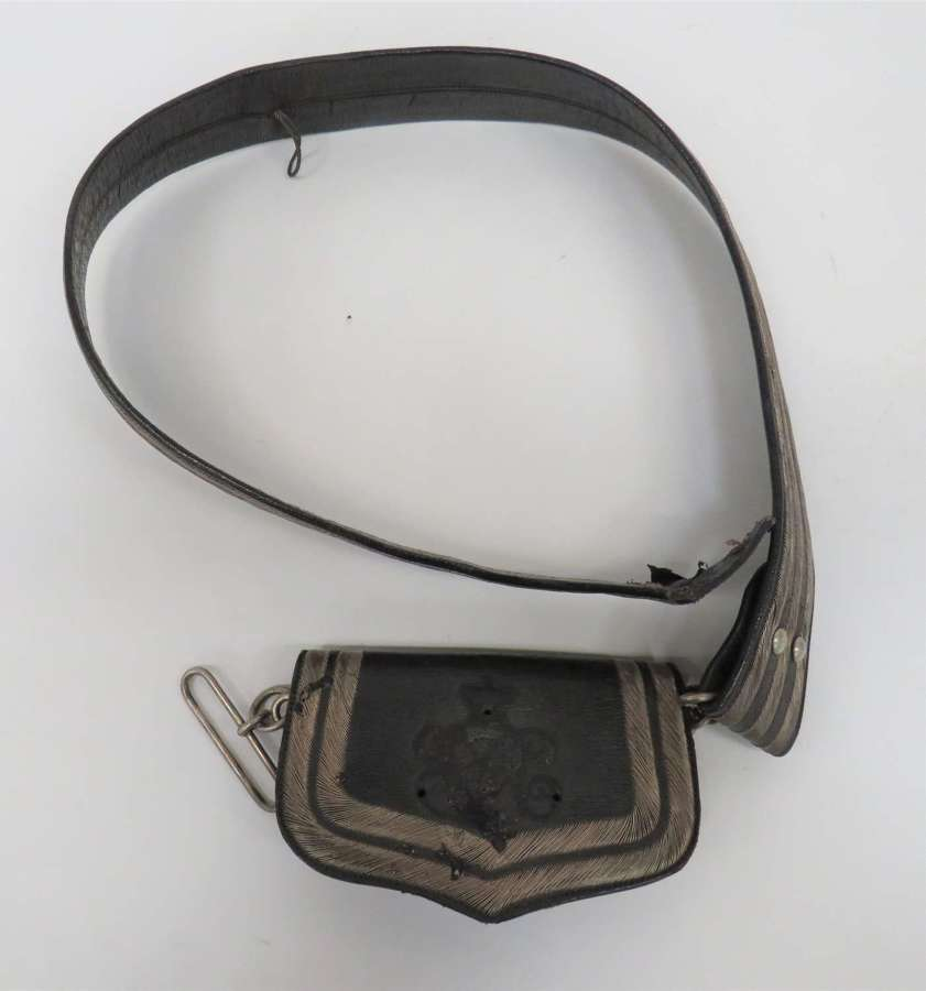 Victorian Volunteer Medical Corps Shoulder Pouch and Strap