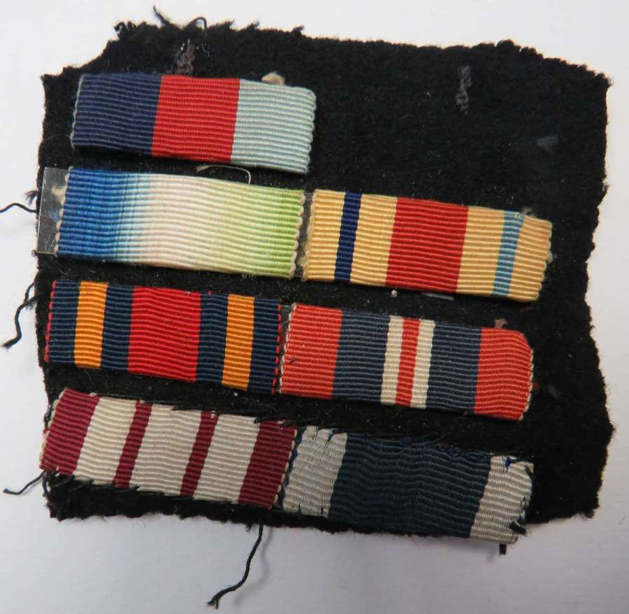 WW2 Royal Navy Uniform Medal Ribbons