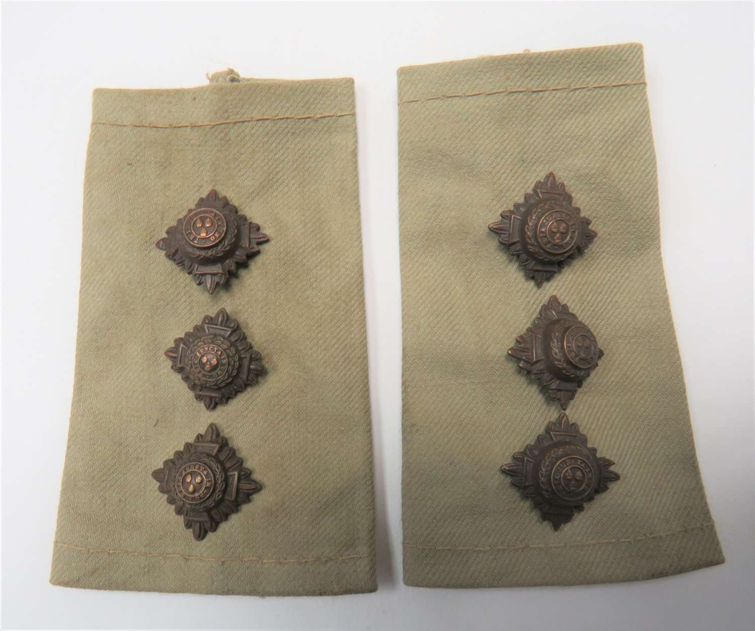 Pair of Captains Tropical Rank Tabs