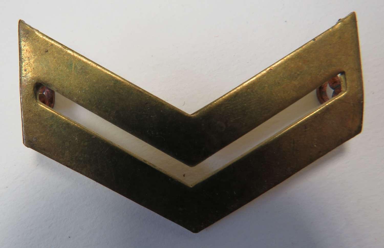 Tropical Corporal Brass Stripes