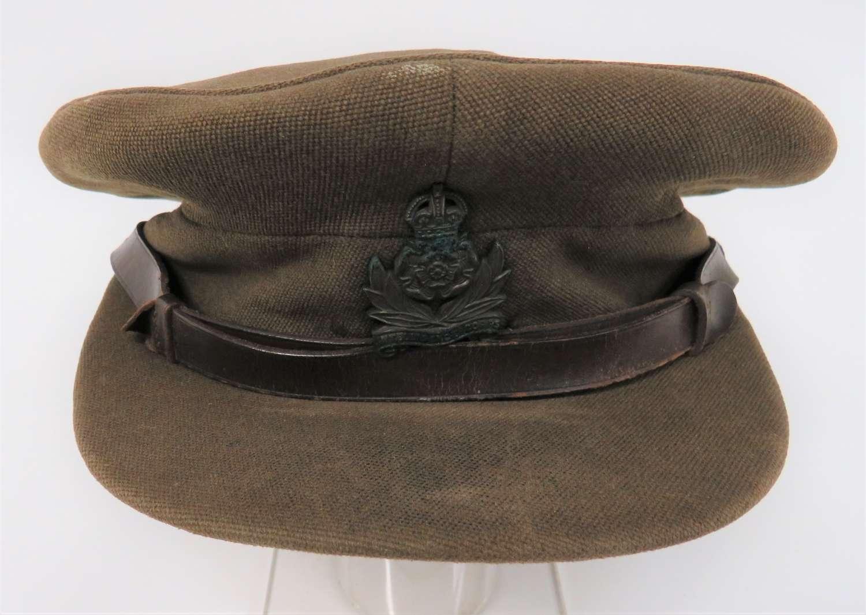 WW2 Intelligence Corps Officers Service Dress Cap