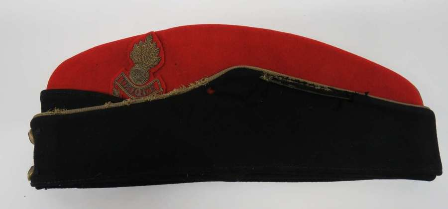 Royal Artillery Officers Coloured Field Service Dress Cap