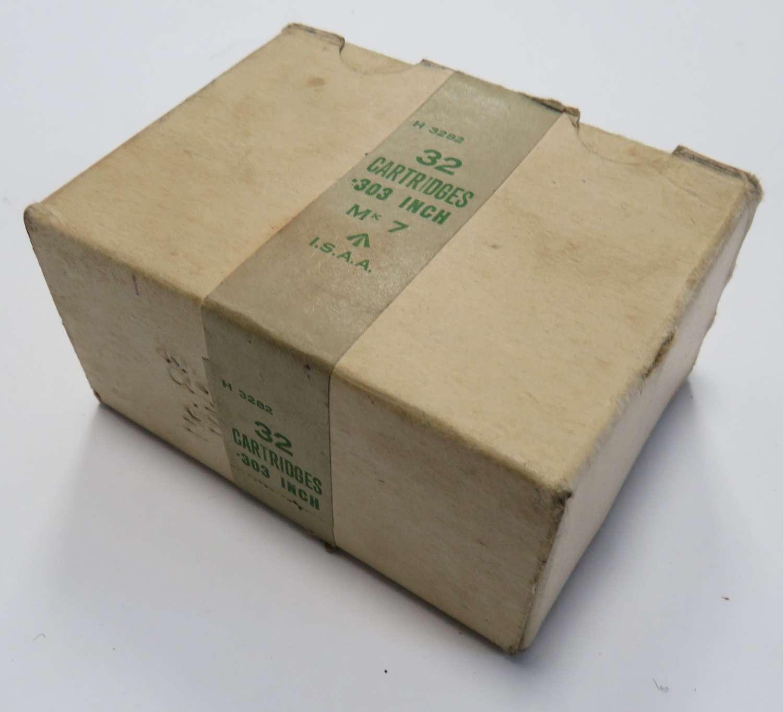 Empty supply box for .303 Ammunition