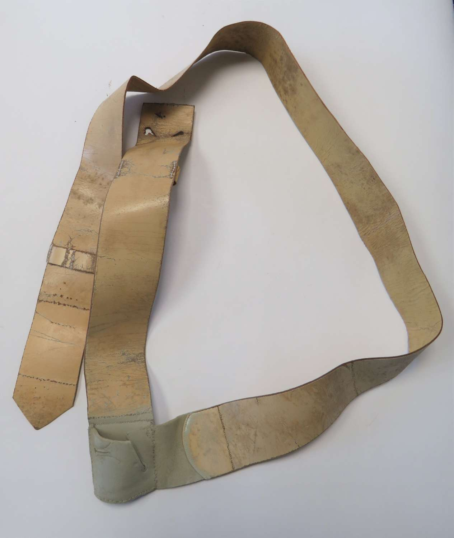 19th Century Officers Baldric Cross Belt and Sword Frog
