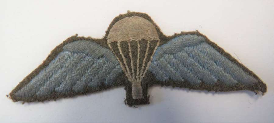 WW 2 Parachute Qualification Wings