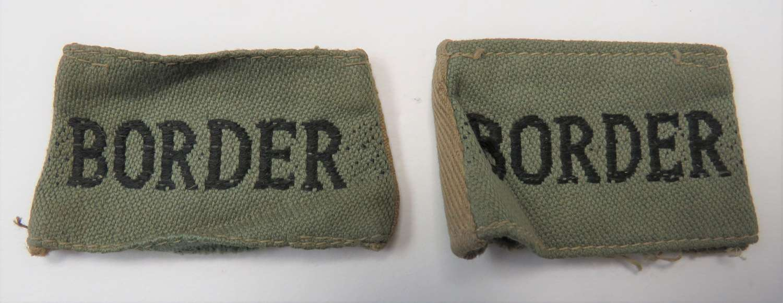 Pair of Tropical Border Titles