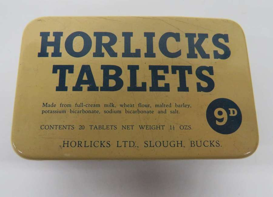 Horlicks Tablets Empty Tin