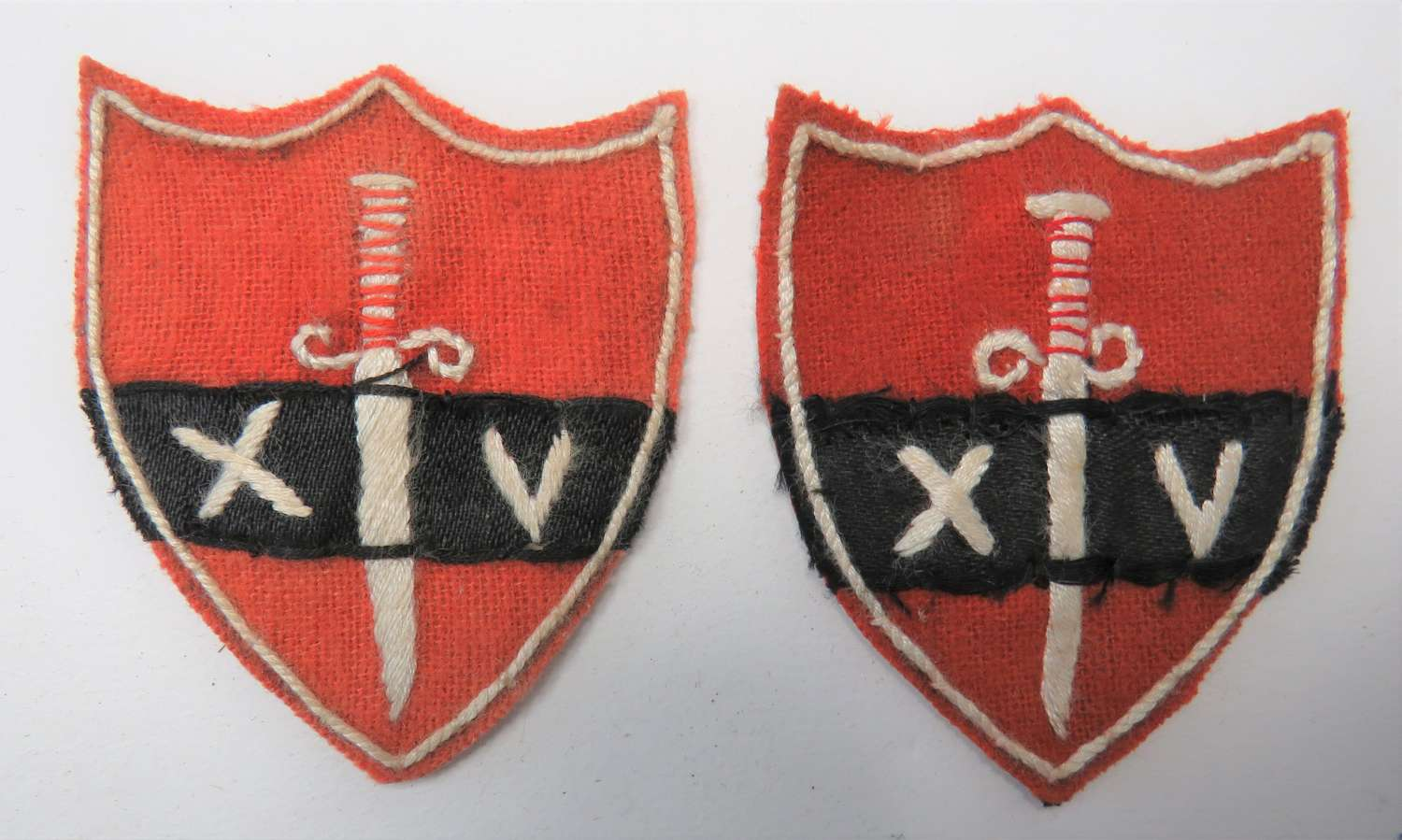 Pair of 14th Army Formation Badges