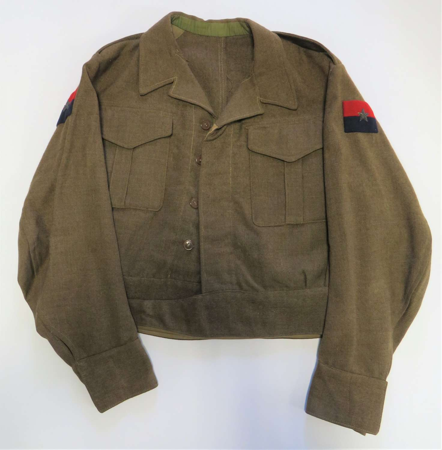 WW2 G.H.Q India Officers Battle Dress Jacket