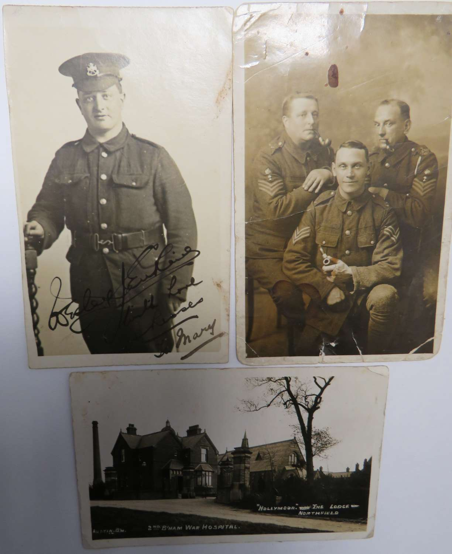 Three WW1 Postcards