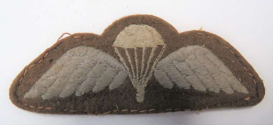 WW2 Airborne Parachute Qualification Wings