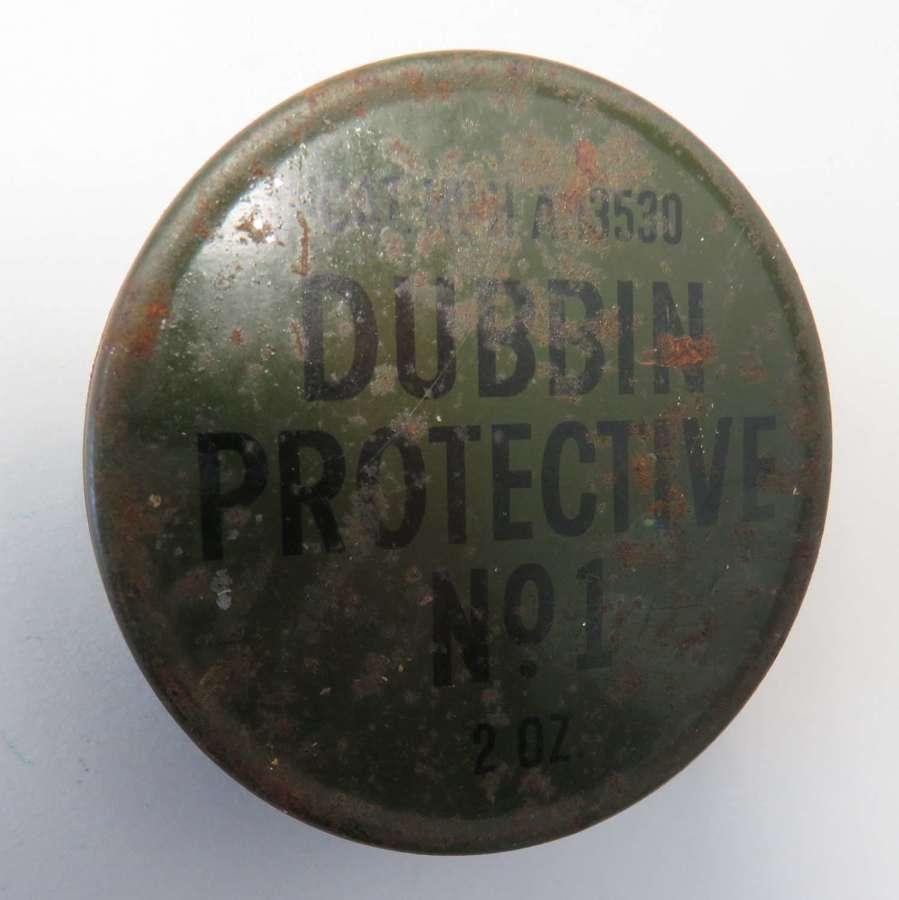 WW2 Unopened Tin of Dubbin No 1