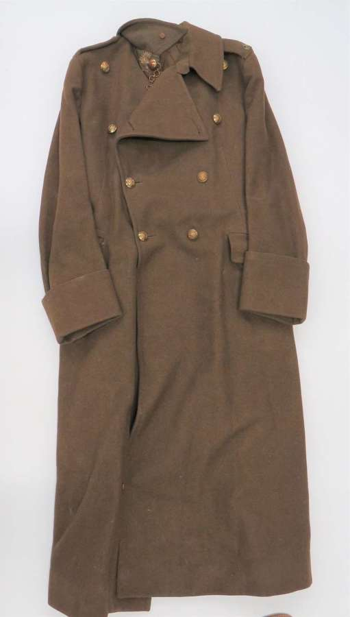 Scarce 1940 Dated Royal Fusiliers Officers Greatcoat
