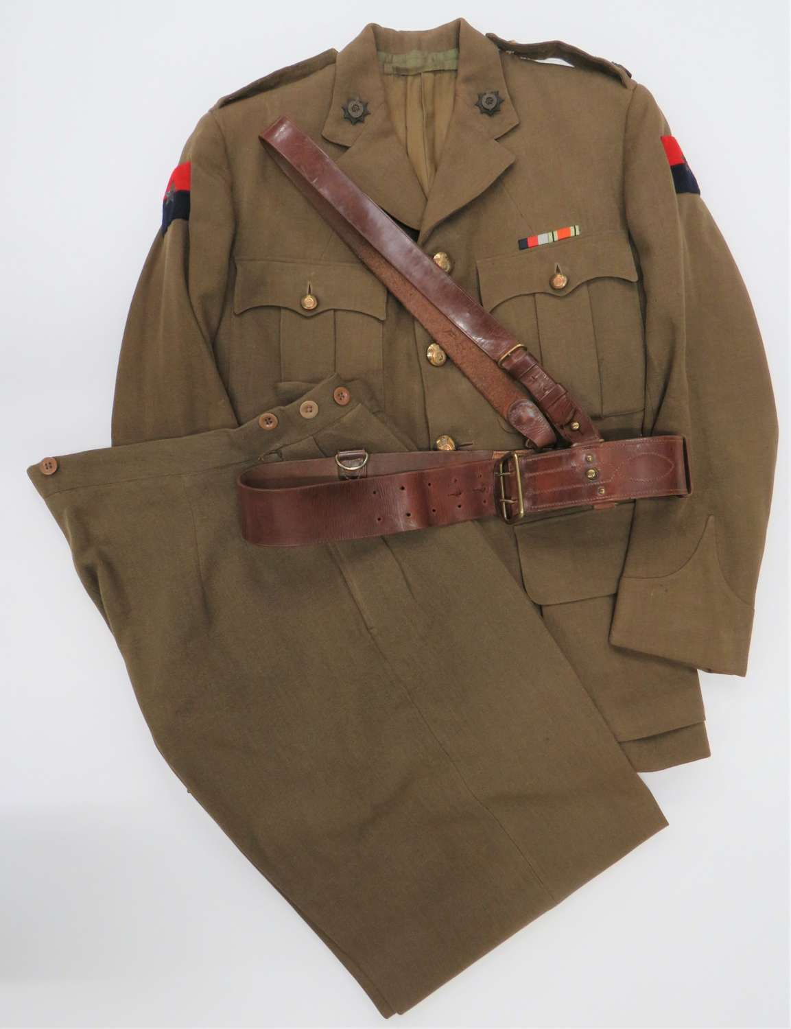 Royal Indian Army Service Corps Officers Uniform