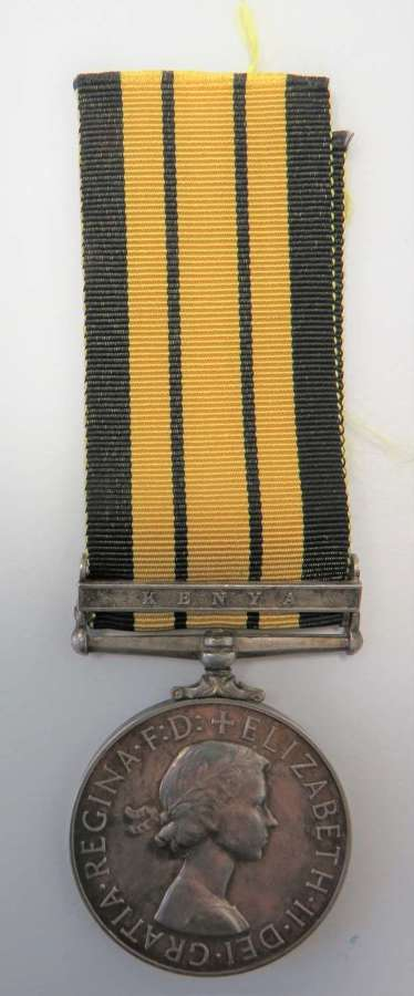 K.S.L.I . Africa General Service Medal with