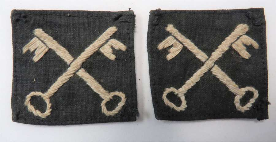 Pair of 2nd Infantry Division Formation Badges