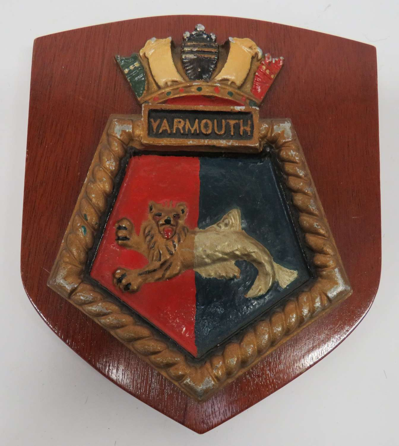 H.M.S Yarmouth Ships Crest