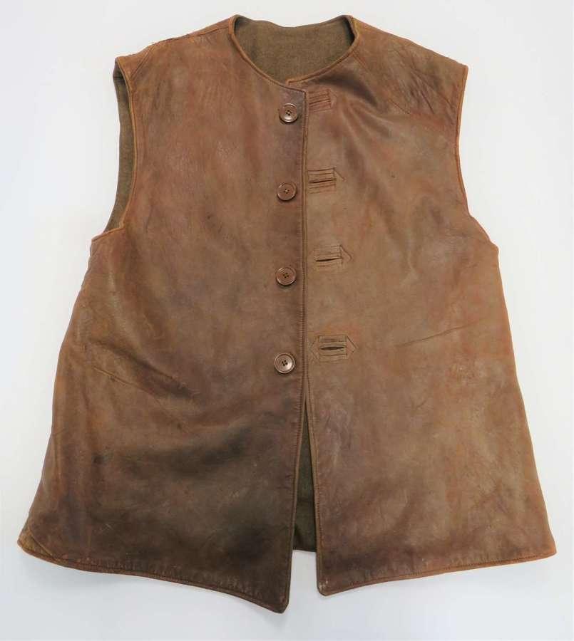 WW2 Battle of France  Leather Jerkin