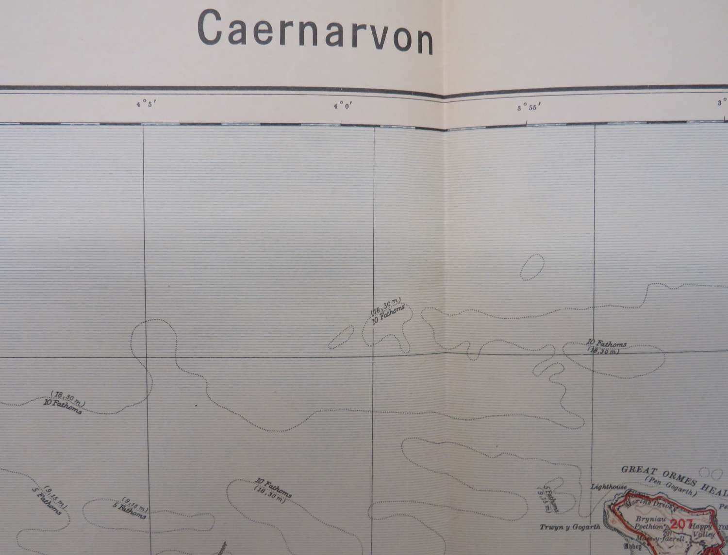 WW 2 German Invasion Map of Caernarvon