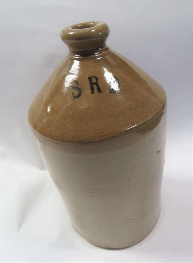 WW1 Period S.R.D Rum Glazed Jar