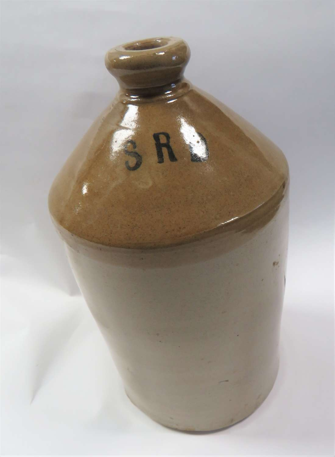 WW1 Period S.R.D Rum Glazed Jar