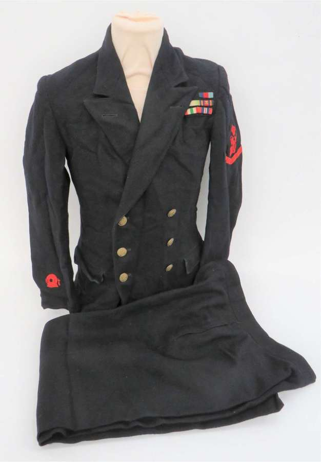WW 2 Royal Navy Petty Officer DIVERS Tunic and Trousers