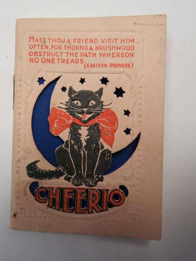 1940 unused Diary