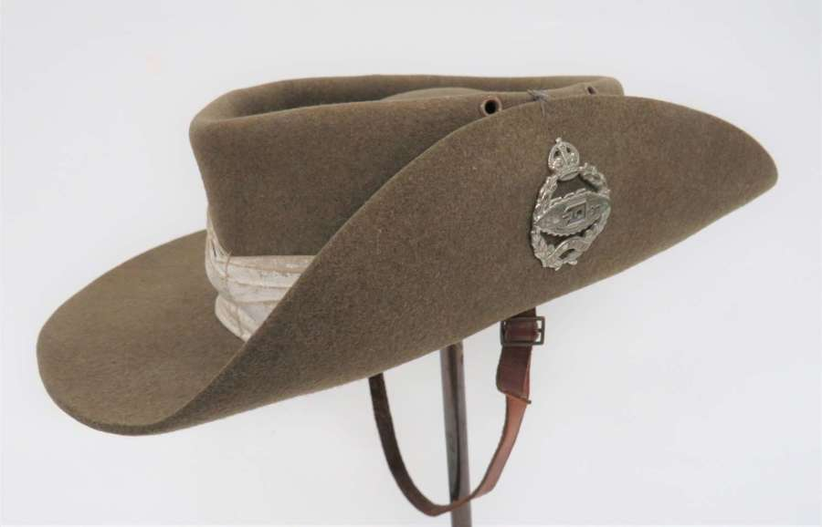 1943 Dated Royal Tank Regiment Tropical Bush Hat