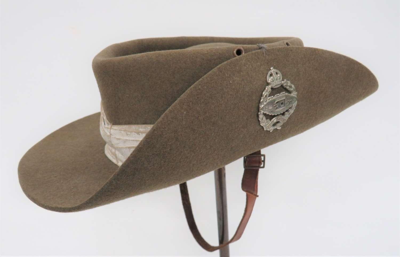 1943 Dated Royal Tank Regiment Tropical Bush Hat