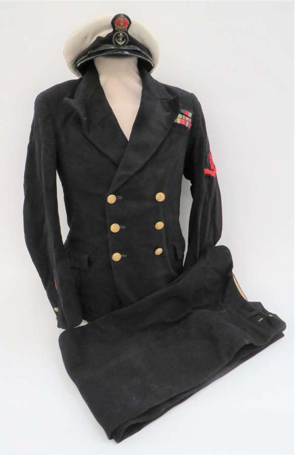 WW 2 Royal Navy Petty Officer DIVERS Uniform and Cap