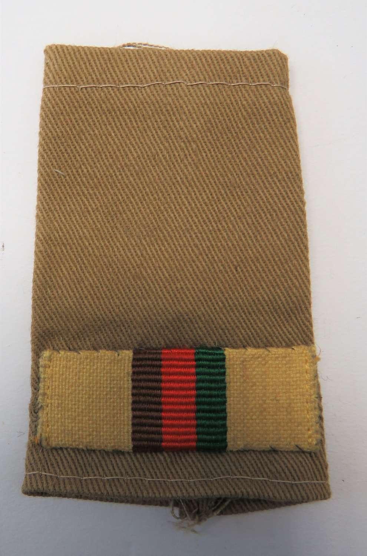 2nd Royal Tank Regiment Slip on Shoulder Strap