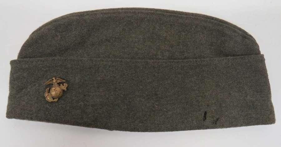 WW2 U.S.M.C Garrison Cap