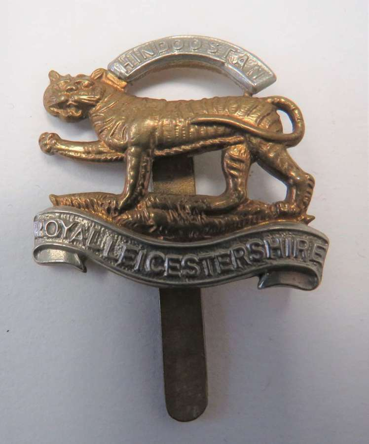 Royal Leicestershire Beret Badge