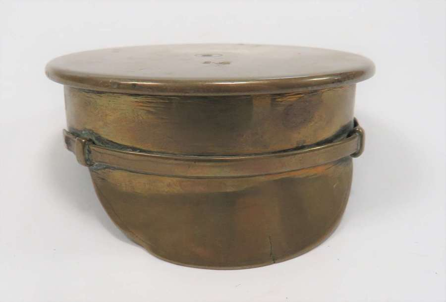 WW1 Trench Art Shell Peaked Cap