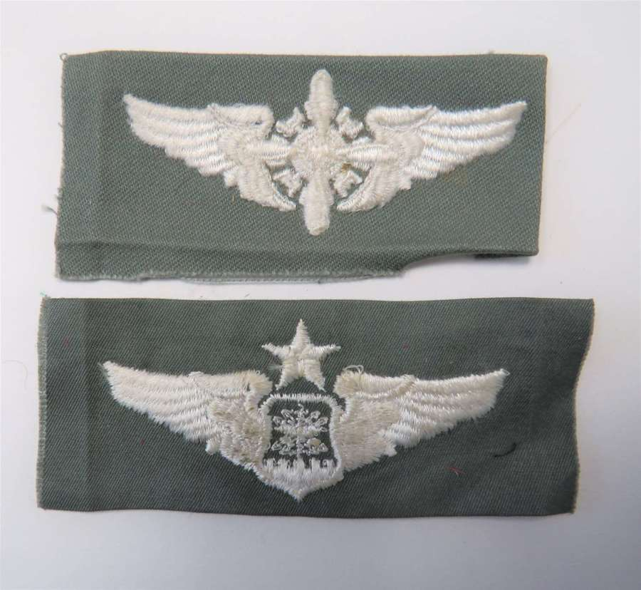 Two Post War American Aircrew Overall Wings