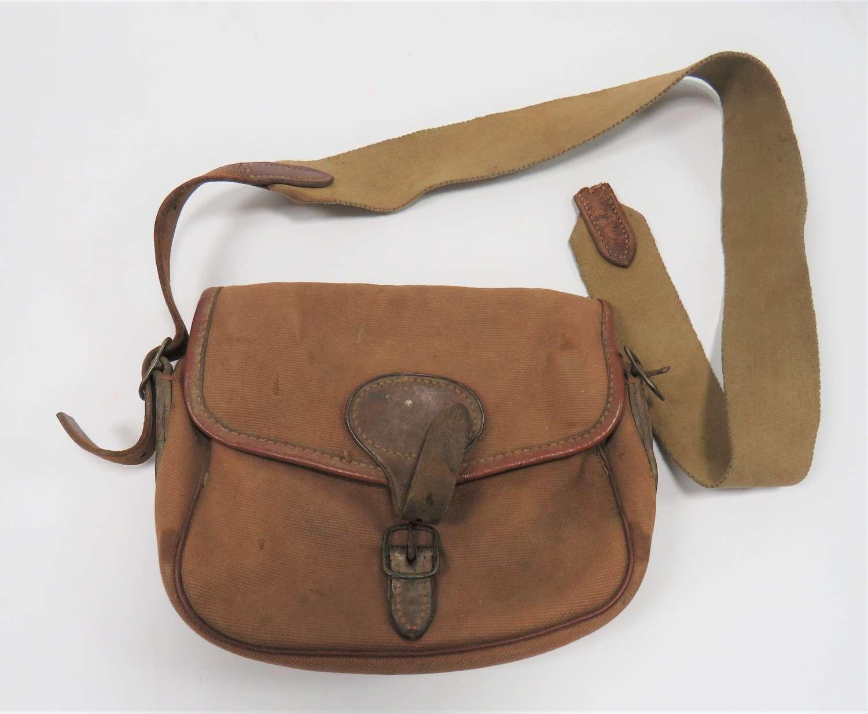 Early 20th Century Field Sport Shotgun Cartridge Bag