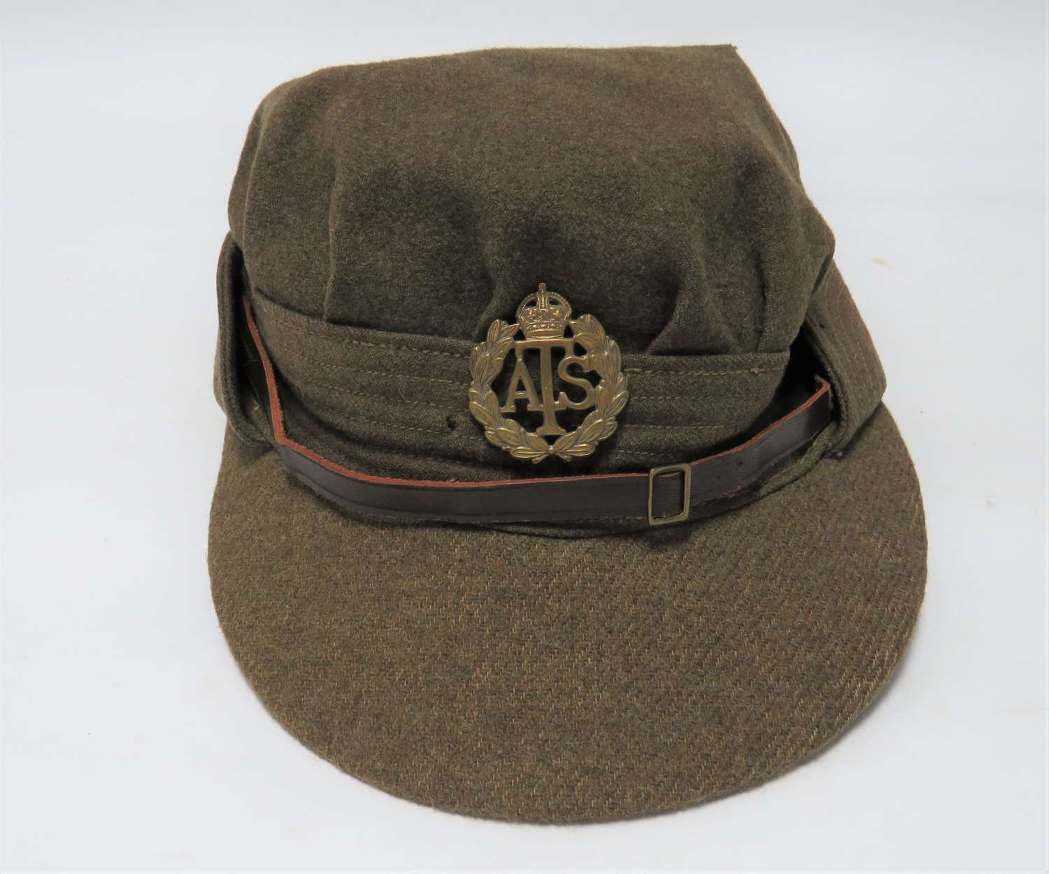 WW2 A.T.S Issue Other Ranks Service Dress Cap